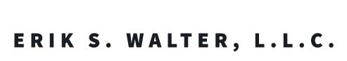 The Law Office of Erik S. Walter, L.L.C. Logo