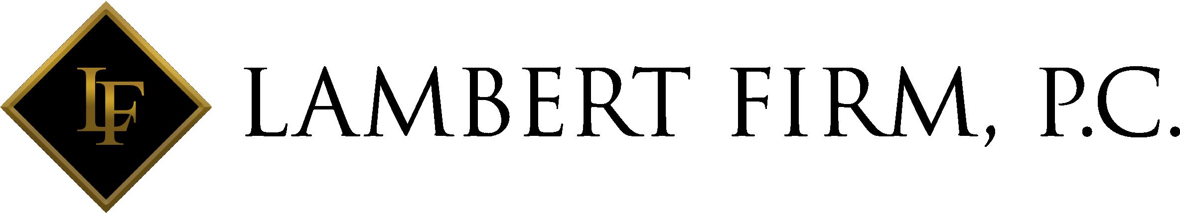 Lambert Firm, P.C. Logo
