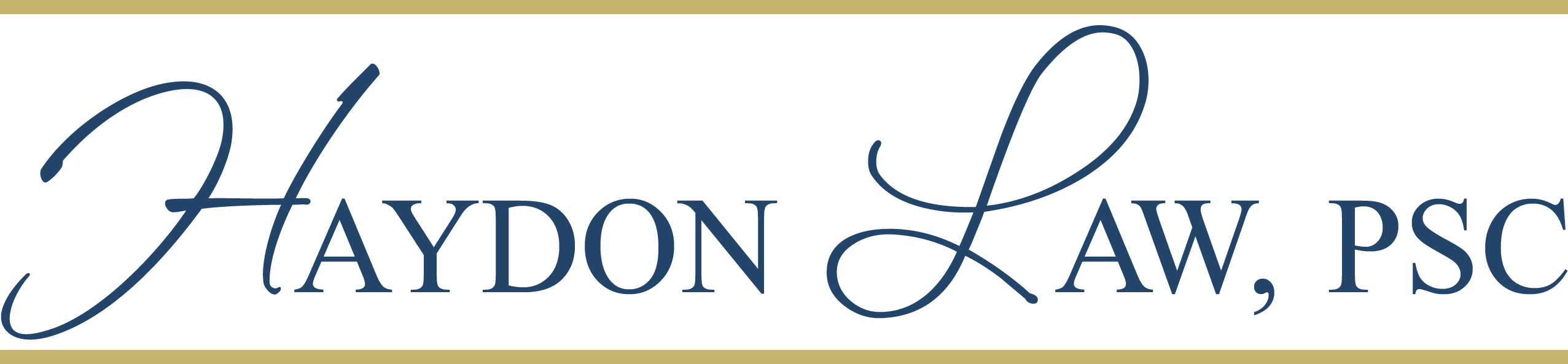 Haydon Law, PSC Logo