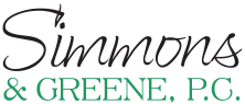 Simmons & Greene P.C. Logo