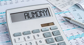 Calculator with Alimony on it