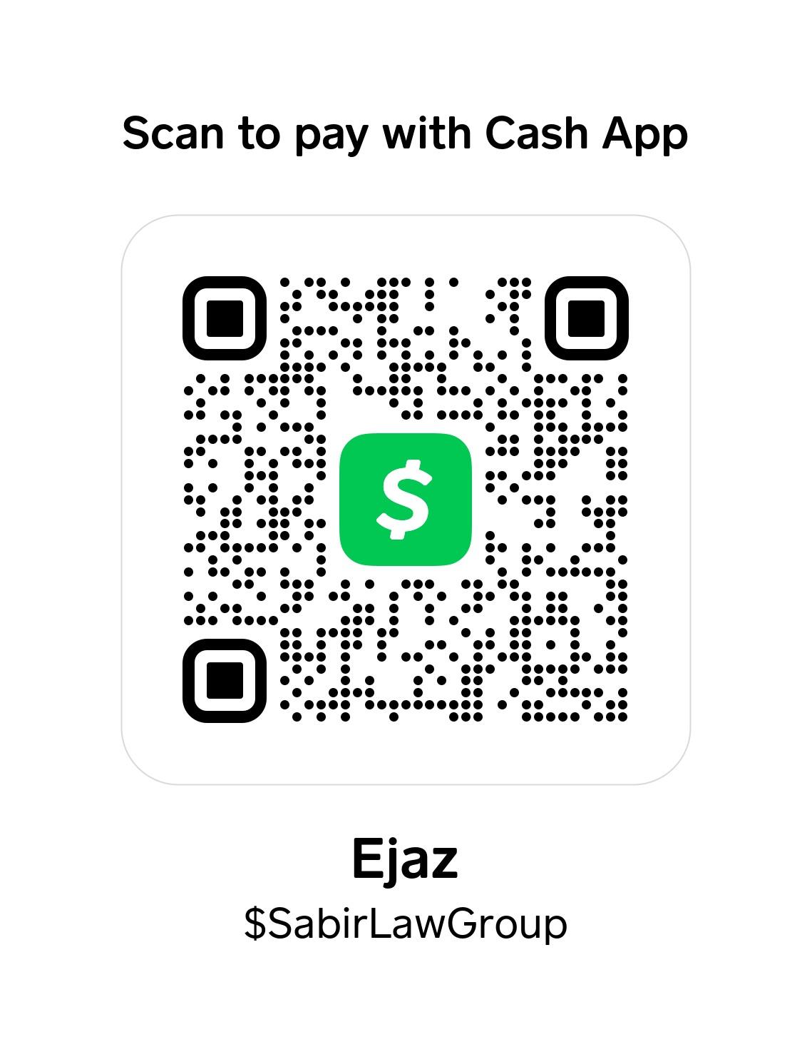 Cash APP QR code