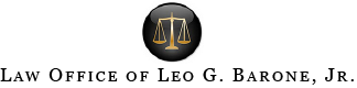 Law Office of Leo G. Barone, Jr. Logo