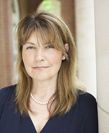 Sue Palmer smiling