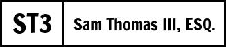 Sam Thomas III, Attorney at Law Logo