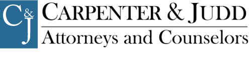 Carpenter & Judd Attorneys and Counselors Logo