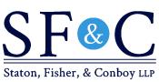 Staton, Fisher & Conboy LLP Logo