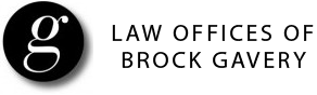 Law Office of Brock Gavery Logo