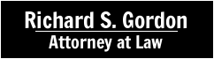 Richard S. Gordon, Attorney at Law Logo