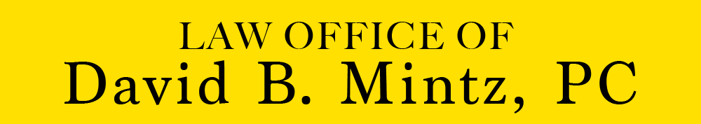 Law Office of David B. Mintz, PC Logo