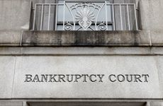 Bankruptcy Court Engraved in Cement