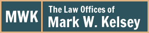 The Law Offices of Mark W. Kelsey Logo