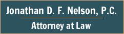 Jonathan D. F. Nelson, P.C. Logo