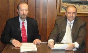 Attorney Allen Papp and partner