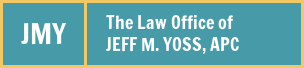 The Law Office of Jeff M. Yoss, APC Logo