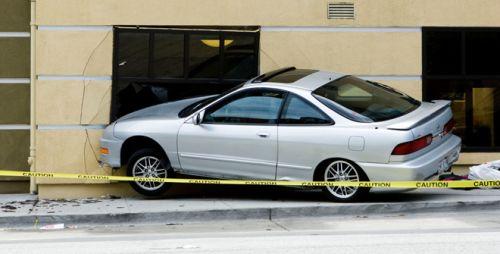 Car Crashed into a Building