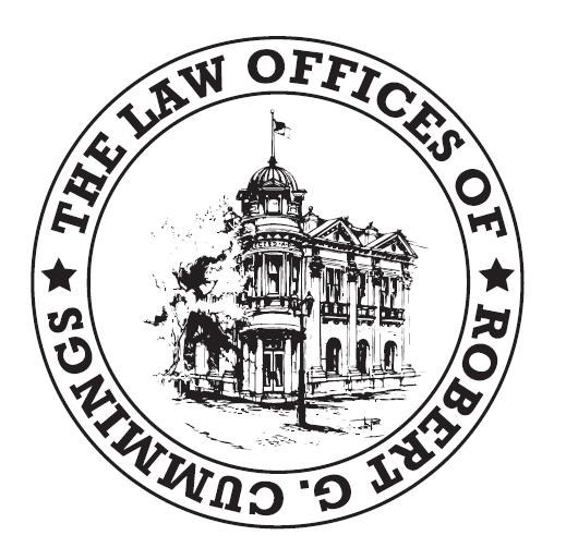 Law Offices of Robert G. Cummings Logo