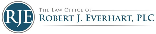The Law Office of Robert J. Everhart, PLC Logo