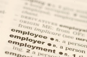 Employee definition in a dictionary