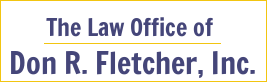 The Law Office of Don R. Fletcher, Inc. Logo
