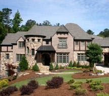 A large house/mansion