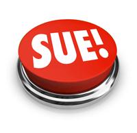 "Big Red ""Sue!"" button"