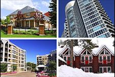 Collage of four timeshares