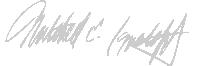 Attorney Mitchell E. Ignatoff's signature
