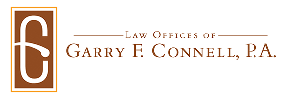 Law Offices Of Garry F. Connell, PA Logo