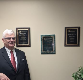 William Hall and his awards