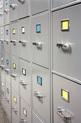 Square Metal lockers