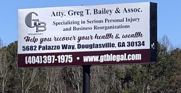 Greg T. Bailey billboard