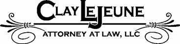 J. Clay LeJeune, Attorney at Law, LLC Logo