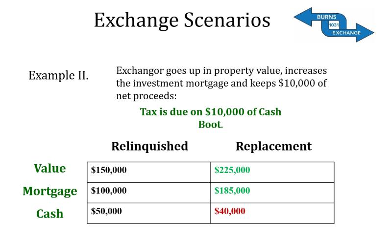 Exchange Scenarios Example 2