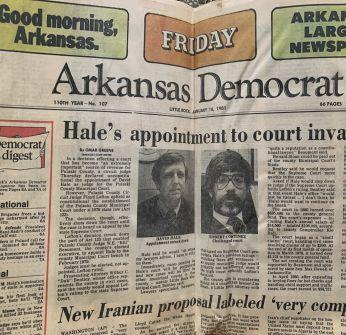 Newspaper article featuring Robert Cortinez