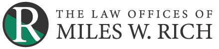 The Law Offices of Miles W. Rich Logo