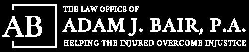 The Law Office Adam J. Bair, P.A. Logo