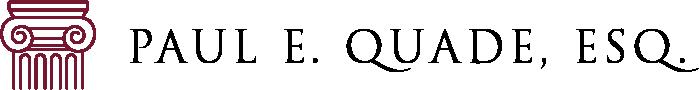 Paul E. Quade, Esq. Logo